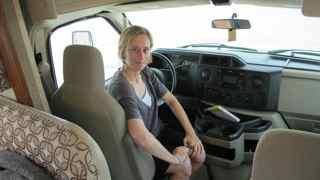 me at wheel