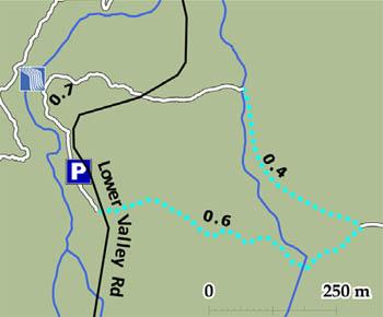 Hoggs Falls Map