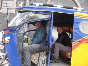 Peruvian taxi!